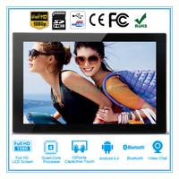 Custom multimedia square lcd digital picture frames