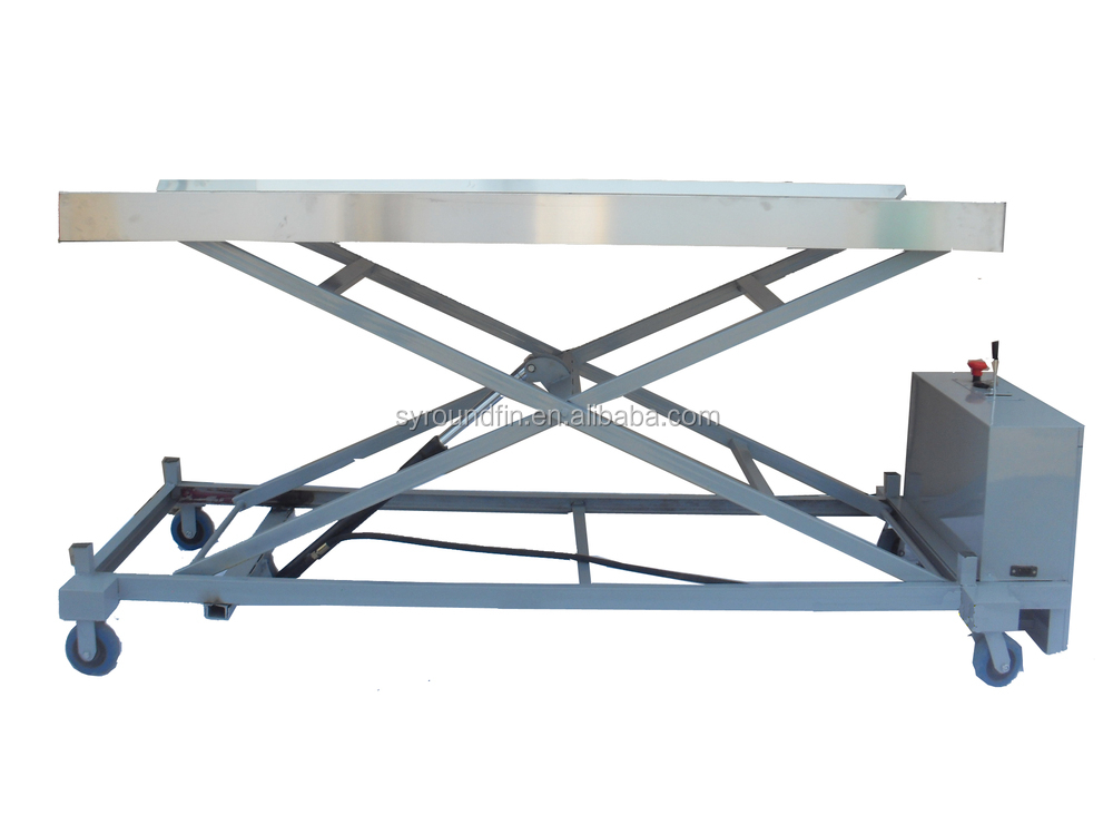 Mortuary Transfer Cart Morgue Products Mortuary Equipment Electric Body  Lifting Trolley - Buy Body Lifting Trolley,Body Trolley,Transfer Cart  Product