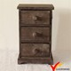 vintage jewelry storage wood craft mini cabinet