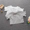 MS75405B New arrival baby girls short cotton t-shirts