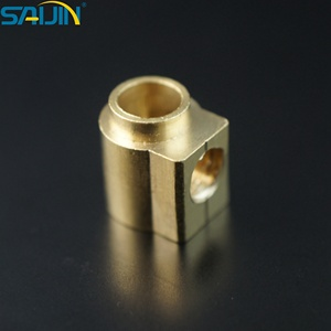 PCB Precision 45A terminal block brass block for electrical parts