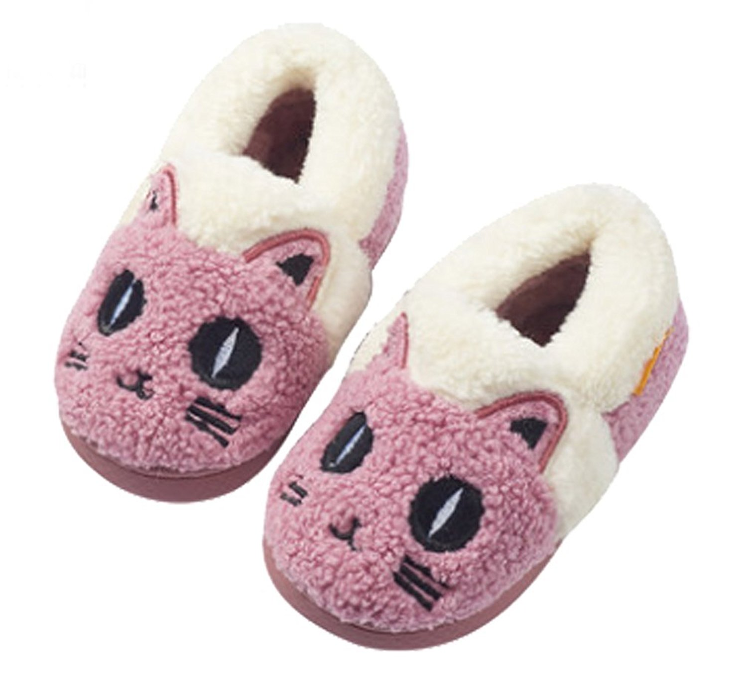 Cattior Warm Animal Cute Slippers Kids Slippers House Shoes Toddler Little Kid