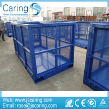 Heavy-duty Rigid Wire Mesh Container Pallet Cage