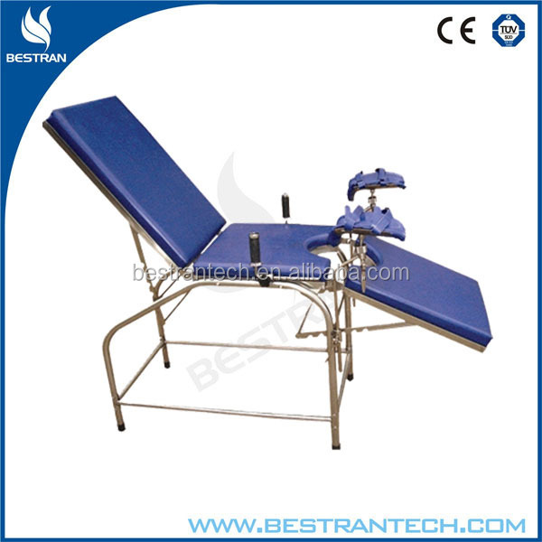 China manufacturer top sell manual portable gyn exam chair