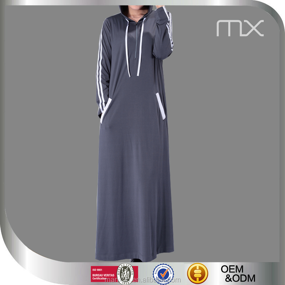 4691c21b8f2 2016 Mode Maillot Décontracté Sport Musulman Abaya Manches Longues Robe  Musulmane Robe Sportive - Buy 2016 Mode Maillot Sport Décontracté  Abaya