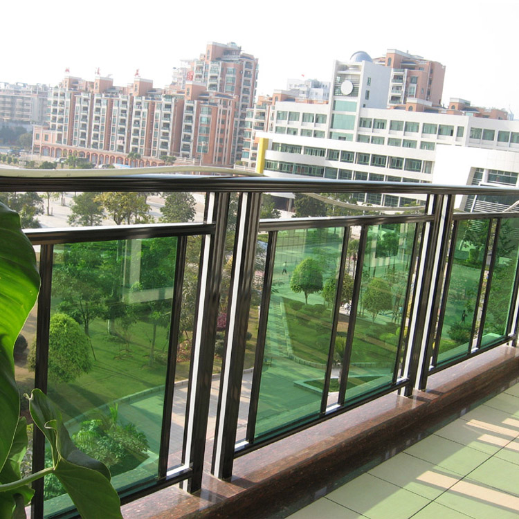 Good Quality Profile Balcony Design Of Glass Aluminum Handrail Parts Stairs Railing