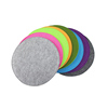Double color polyester felt chair seat pads with customized logo