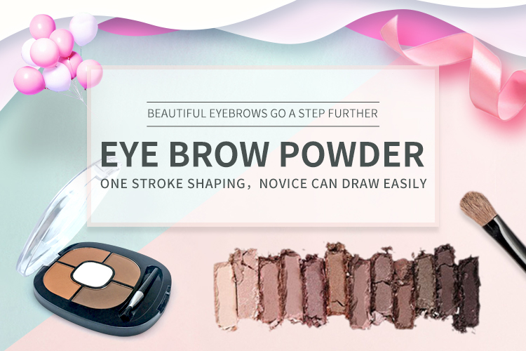 Wholesale Long-Lasting Brow Powder for Eye Makeup Private Label Waterproof Single Eyebrow