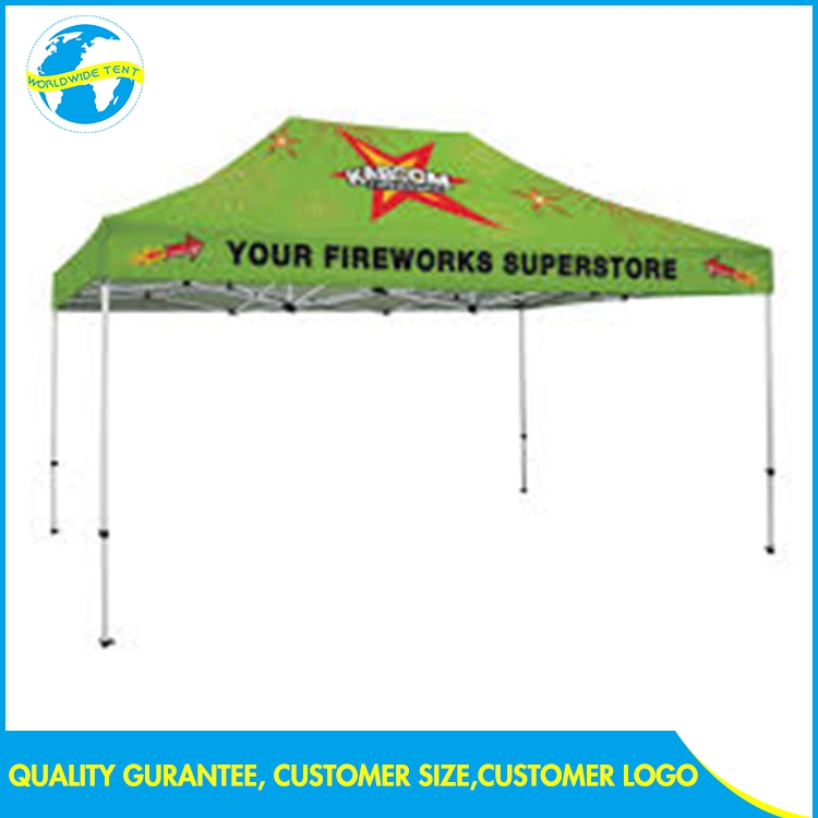 Advertise 3x4.5 Display Commercial 30x50 aluminum frame Kiosk Fireproof Tent Event waterproof