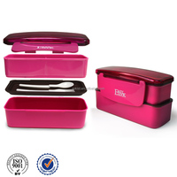 2014 shantou plastic lunch box with lock