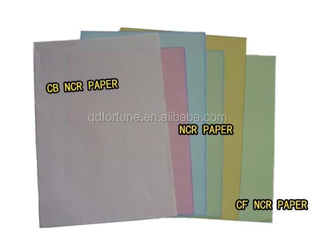 CB CFB CF NCR Paper,non carbon required paper,NCR copy paper for office