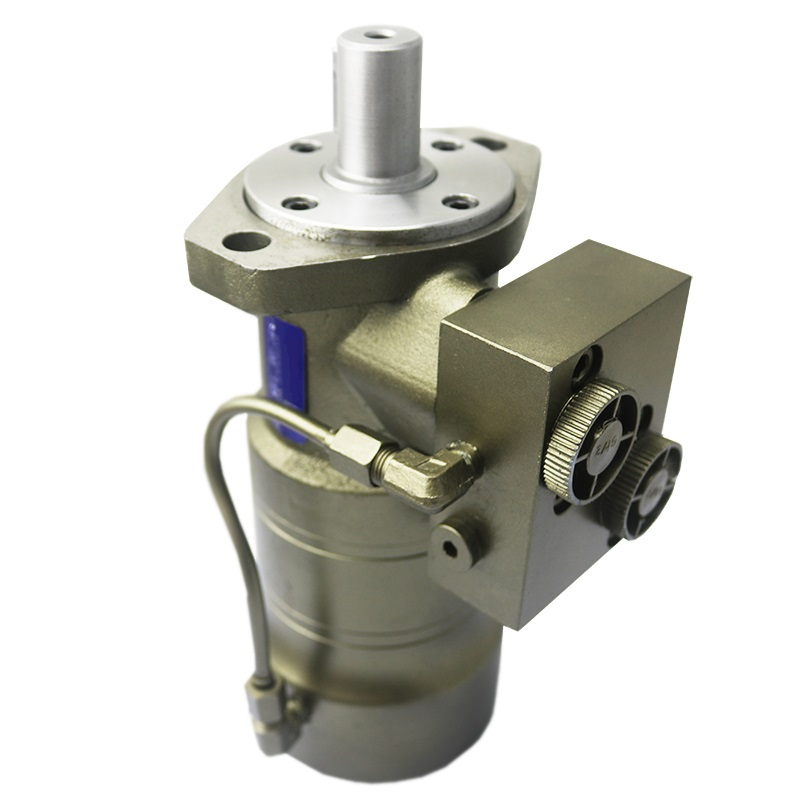 OMR80F,OMR100F,OMR125F,OMR160F,OMR200F,OMR250F,OMR315F orbit hydraulic motor with negative brake