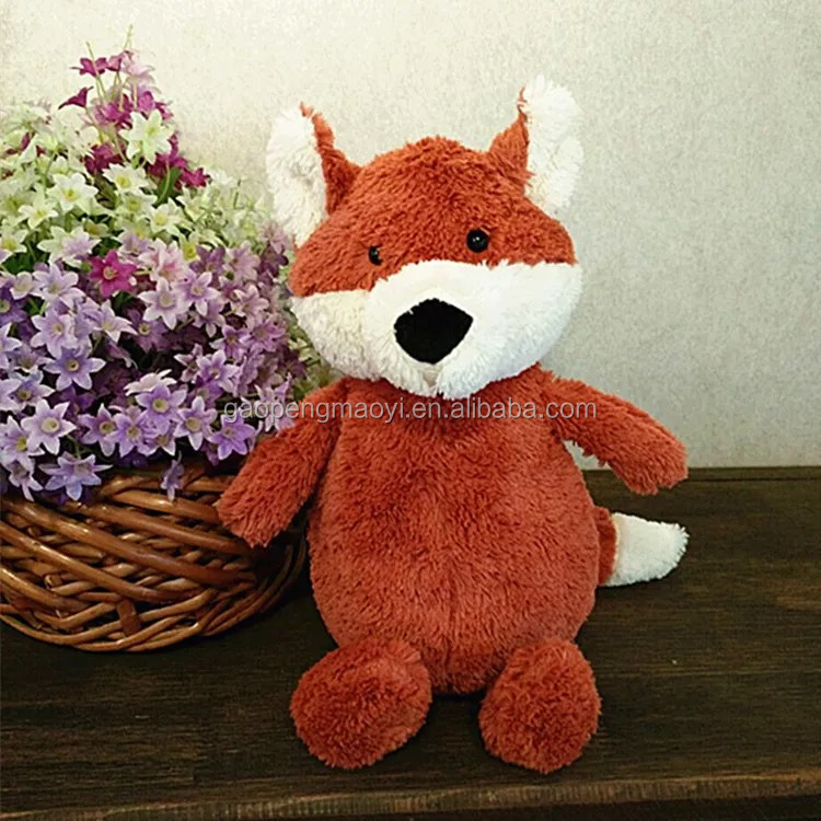 best made toys stuffed animals red fox fluffy plush
