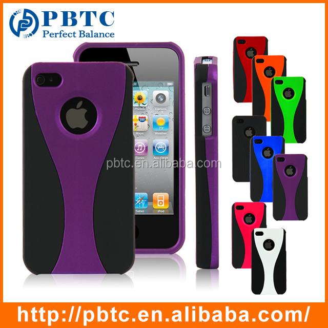 iphone 4s cases cheap cheap for iphone 4 4s purple plastic mobile phone 14424