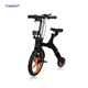 Popular e city bicycle and best seller smart folding e bike