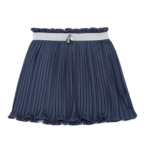 Wholesale clothes cheap child girls pleated short skirt