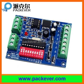 Dc5v-24v Rgbw 4ch Dmx512 Decoder,4 Channels Dmx Decoder - Buy Rgbw Dmx512  Decoder,4ch Dmx512 Decoder,4 Channels Dmx Decoder Product on Alibaba com
