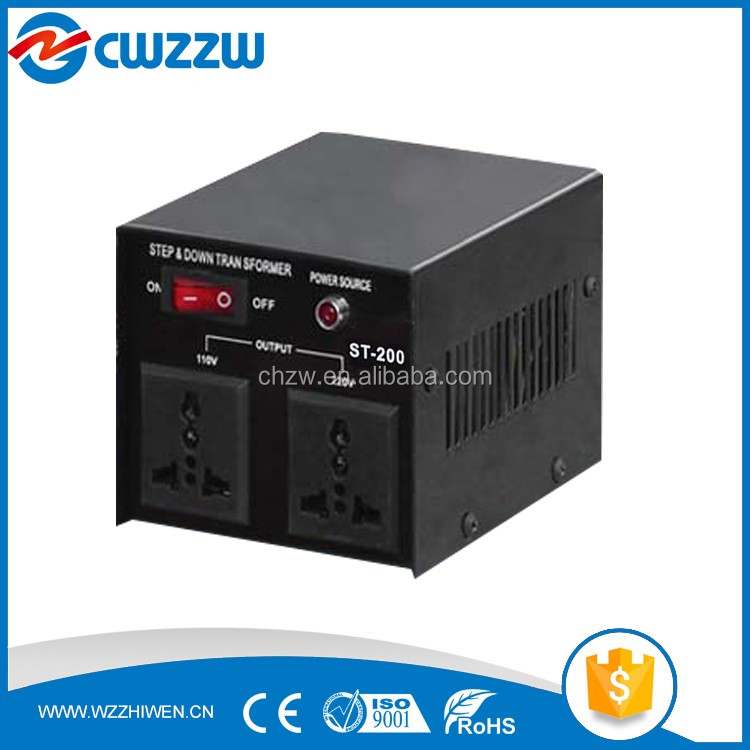 Hot Sale ST-100VA step up down transformer voltage converters 120v to 240v