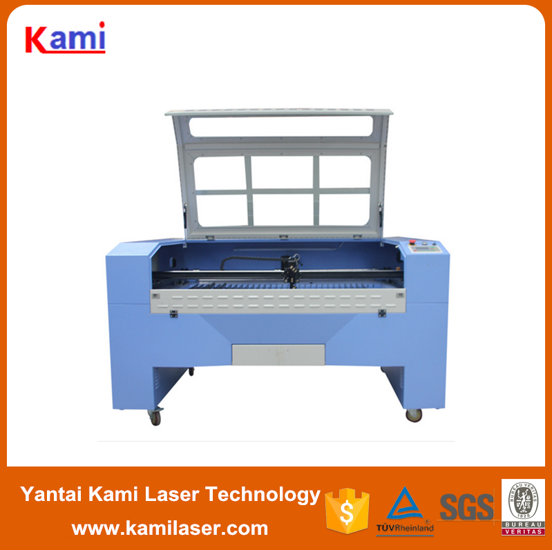 CNC leather hole perforating /punching machine 1390 laser cutting machine