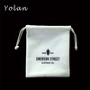 High Quality White Velvet pouch