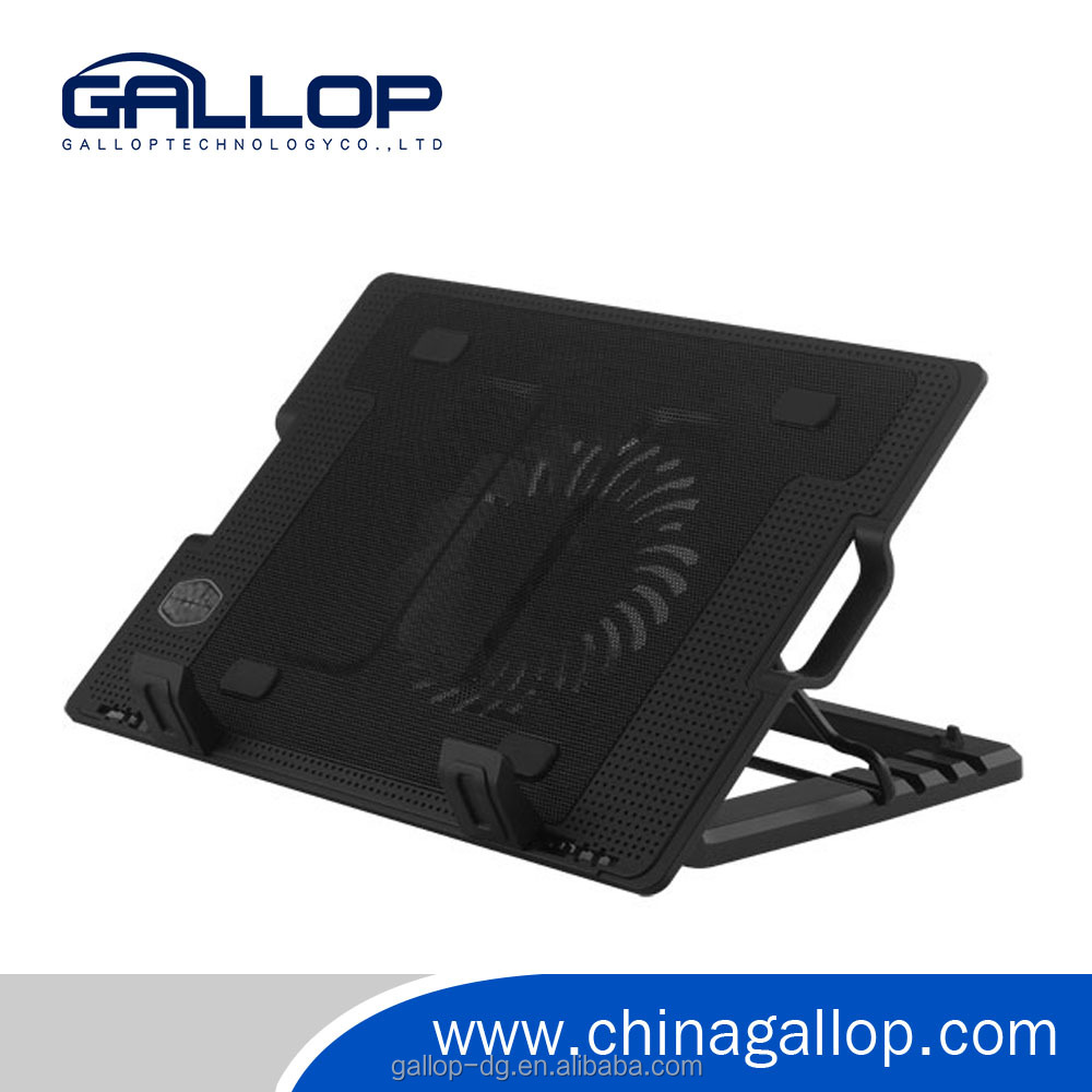 "laptop cooling pad stand notebook cooler cooling pad laptop with2 USB HUB for 17"" Laptop Notebook"