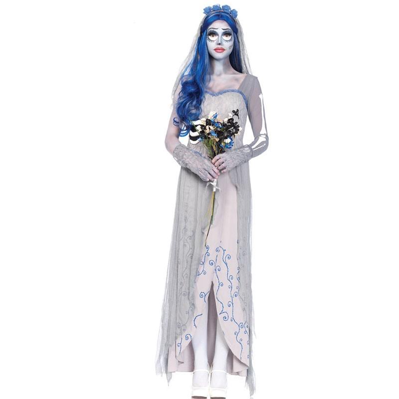 Cadavere Sposa Sposa Halloween Cadavere Abito Halloween Abito 8wOPkn0