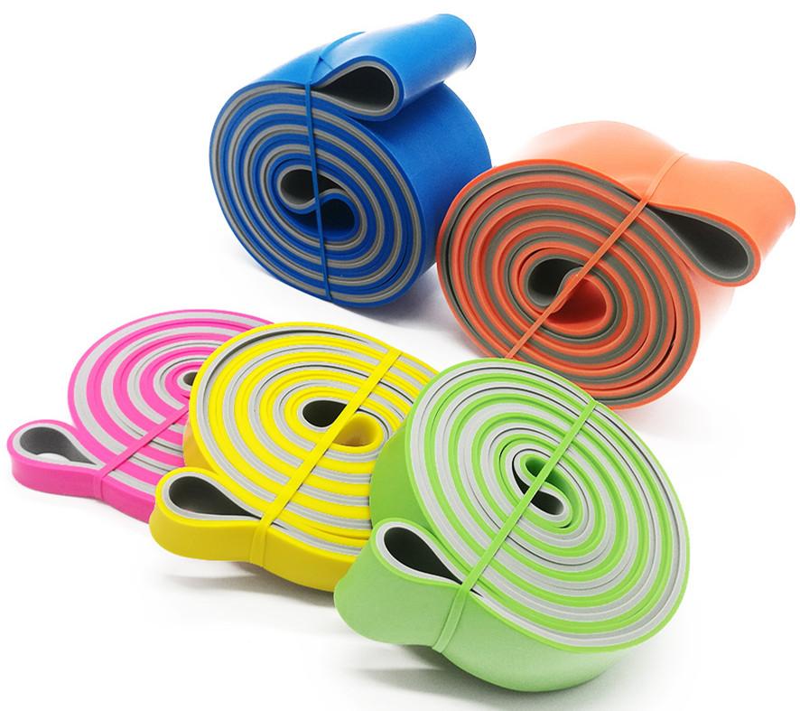 Maat logo oefening workout gymnastiek weerstand bands