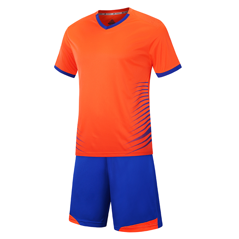 Custom cheap soccer uniforms football shirt for teams and college, Red;green;orange;black;dark blue;white/customized