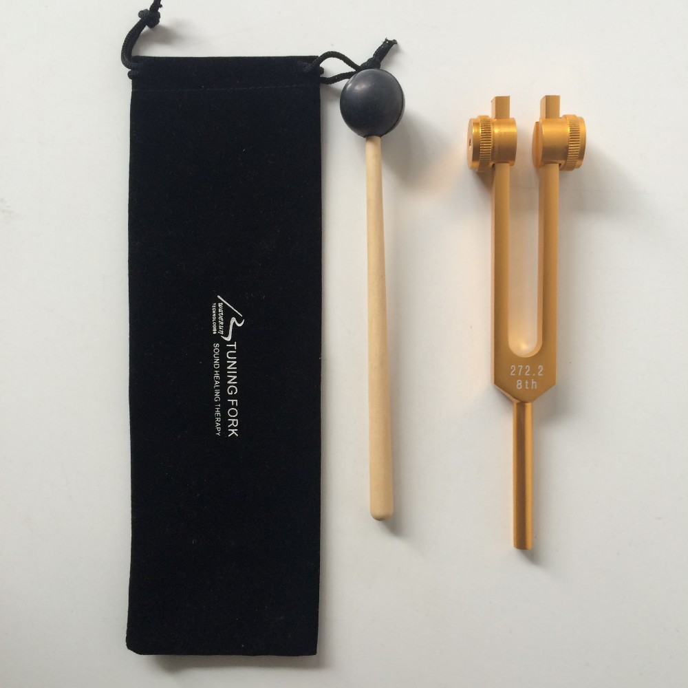 2ND SACRAL CHAKRA TUNING FORK SETS FOR SOUND HEALING THERAPY