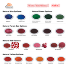Colour Bulk Organic Pigment Colorant Natural Food Grade Colors Powder Colour Food Coloring