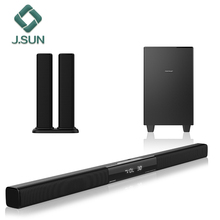 Draagbare speaker box home <span class=keywords><strong>theater</strong></span> 5.1 soundbar met subwoofer
