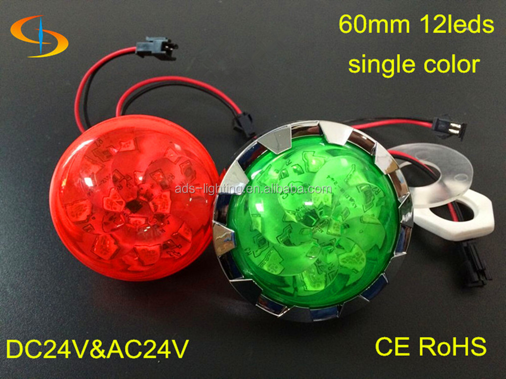 red/green/blue/yellow/ white color 12smd 60mm led pixel light source