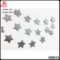 gold and silver star garland for Christmas holiday home decoration
