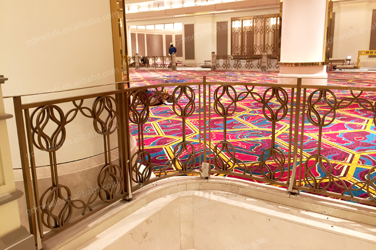 Decorative Fashion Stainless Steel Indoor Balustrade Railing Design