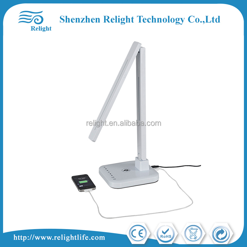 Popular portable CCT USB Port Touch Dimmer Folding white Led Desk Lamp,Table Lamp on Amazon