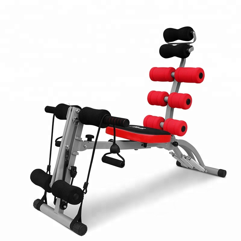 High Quality China Make New Body  Abdominal Machine Fitness Sit-Up Auxiliary Equipment Automatically Supine Board Home