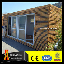 China luxury wooden living modular cottage for sale