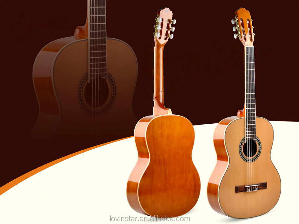 "Wholesale hand made 36""/39"" Nanyang wood classical guitar"