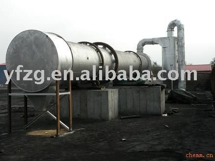 Pyrite, Zircon and Rutile, Monazite, Tung ore concentrate drying Rotary Dryer--CHINA YUFENG