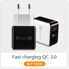 Dual USB Charger Quick Charge 3.0 Fast Charging For Samsung S10 A5 iphone 11 Portable Mobile Phone Charger QC 3.0 Wall Adapter
