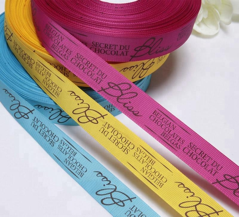 3 inch grosgrain ribbon custom printed