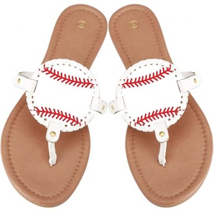 928b87853cac83 Monogram Football Sandals Wholesale