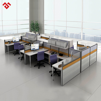 Glass Cubicle Walls Design Office Partition Open Space Workstation