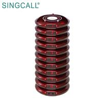 SINGCALL Paging System, restaurant coaster queue system wireless pager