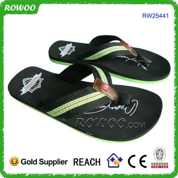 2014 hot selling men pu sandals and slippers arabic slippers