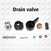 Airless Paint Sprayer Prime Valve Accessories Kit Set Fits for Graco 390 395 490 495 695