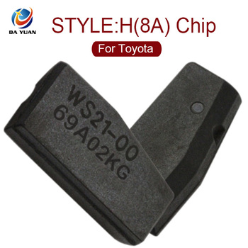 DY120008 New Car Key Transponder H (8A) Chip 128 Bit for Toyota Rav4 Camry 2013-2015