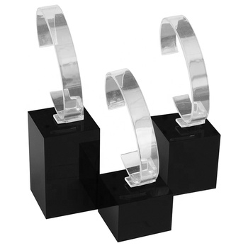 custom Watch Stands Acrylic Showcase Riser Jewelry Display  for sale