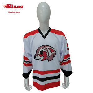 Sublimation wholesale blank youth custom field hockey goalie jersey