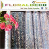 Wholesale 2014 Nylon&Polyester Floral printed organza fabric Types of Wall Fabric